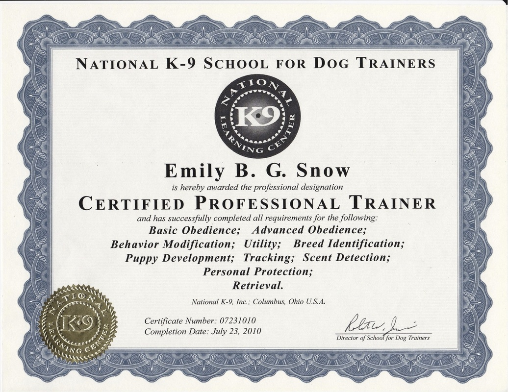 Meet The Trainer Free State K9
